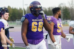 20170324 - Kha Vo - Laurier Football scrimmage vs Western_-263