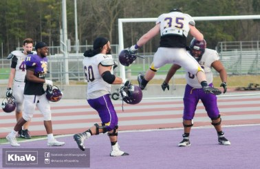 20170324 - Kha Vo - Laurier Football scrimmage vs Western_-266