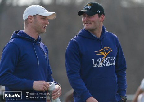20170324 - Kha Vo - Laurier Football scrimmage vs Western_-45