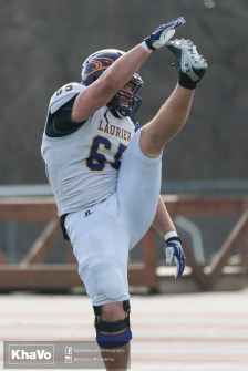 20170324 - Kha Vo - Laurier Football scrimmage vs Western_-50