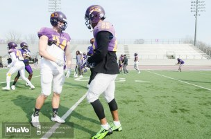 20170324 - Kha Vo - Laurier Football scrimmage vs Western_-52