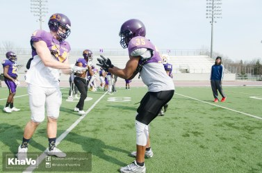 20170324 - Kha Vo - Laurier Football scrimmage vs Western_-53