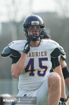 20170324 - Kha Vo - Laurier Football scrimmage vs Western_-56