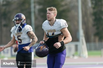 20170324 - Kha Vo - Laurier Football scrimmage vs Western_-58