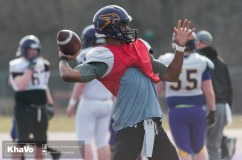 20170324 - Kha Vo - Laurier Football scrimmage vs Western_-74