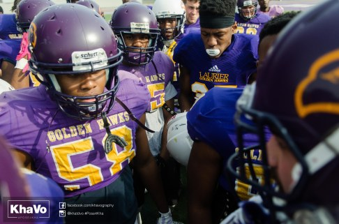 20170324 - Kha Vo - Laurier Football scrimmage vs Western_-78