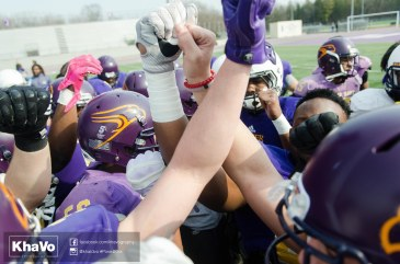 20170324 - Kha Vo - Laurier Football scrimmage vs Western_-79