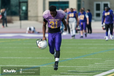 20170324 - Kha Vo - Laurier Football scrimmage vs Western_-8
