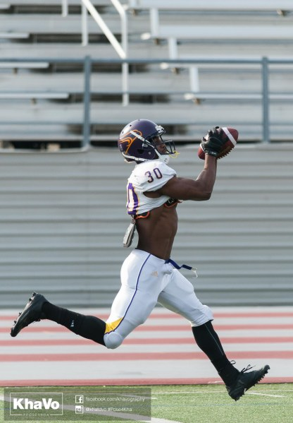 20170324 - Kha Vo - Laurier Football scrimmage vs Western_-80