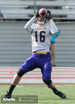 20170324 - Kha Vo - Laurier Football scrimmage vs Western_-85