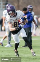 20170324 - Kha Vo - Laurier Football scrimmage vs Western_-86