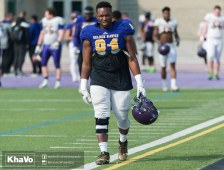 20170324 - Kha Vo - Laurier Football scrimmage vs Western_-9