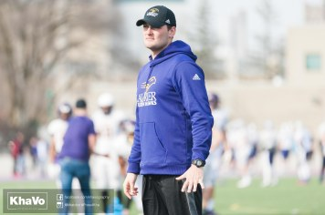 20170324 - Kha Vo - Laurier Football scrimmage vs Western_-92