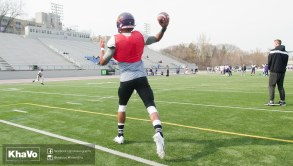 20170324 - Kha Vo - Laurier Football scrimmage vs Western_-93