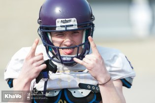 20170324 - Kha Vo - Laurier Football scrimmage vs Western_
