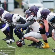 20170331 - Kha Vo - Laurier Football scrimmage vs Guelph_-125