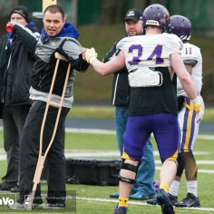 20170331 - Kha Vo - Laurier Football scrimmage vs Guelph_-130