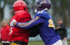 20170331 - Kha Vo - Laurier Football scrimmage vs Guelph_-160
