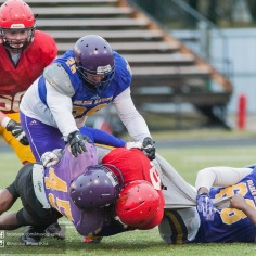 20170331 - Kha Vo - Laurier Football scrimmage vs Guelph_-163