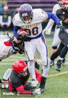 20170331 - Kha Vo - Laurier Football scrimmage vs Guelph_-170