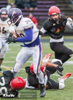 20170331 - Kha Vo - Laurier Football scrimmage vs Guelph_-171