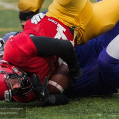 20170331 - Kha Vo - Laurier Football scrimmage vs Guelph_-181
