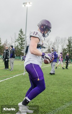 20170331 - Kha Vo - Laurier Football scrimmage vs Guelph_-35