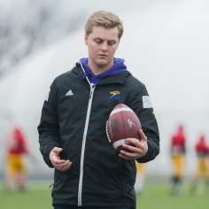 20170331 - Kha Vo - Laurier Football scrimmage vs Guelph_-42