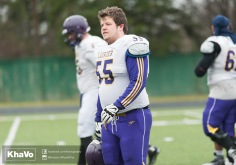 20170331 - Kha Vo - Laurier Football scrimmage vs Guelph_-6