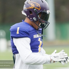 20170331 - Kha Vo - Laurier Football scrimmage vs Guelph_-7