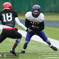 20170331 - Kha Vo - Laurier Football scrimmage vs Guelph_-80