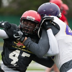 20170331 - Kha Vo - Laurier Football scrimmage vs Guelph_-86
