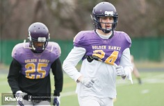 20170331 - Kha Vo - Laurier Football scrimmage vs Guelph_-9