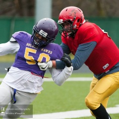 20170331 - Kha Vo - Laurier Football scrimmage vs Guelph_-90