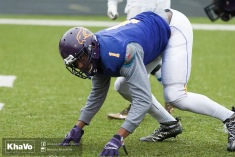 20170331 - Kha Vo - Laurier Football scrimmage vs Guelph_-92