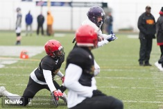 20170331 - Kha Vo - Laurier Football scrimmage vs Guelph_-98
