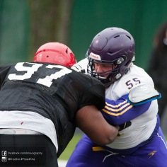 20170331 - Kha Vo - Laurier Football scrimmage vs Guelph_-99