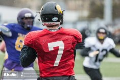20170406 - Kha Vo - Laurier Football scrimmage vs UW_-110