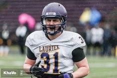 20170406 - Kha Vo - Laurier Football scrimmage vs UW_-121