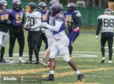 20170406 - Kha Vo - Laurier Football scrimmage vs UW_-129