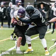 20170406 - Kha Vo - Laurier Football scrimmage vs UW_-140