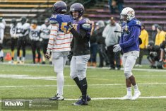 20170406 - Kha Vo - Laurier Football scrimmage vs UW_-156