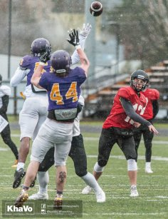 20170406 - Kha Vo - Laurier Football scrimmage vs UW_-157