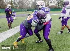 20170406 - Kha Vo - Laurier Football scrimmage vs UW_-61