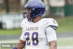 20170406 - Kha Vo - Laurier Football scrimmage vs UW_-70