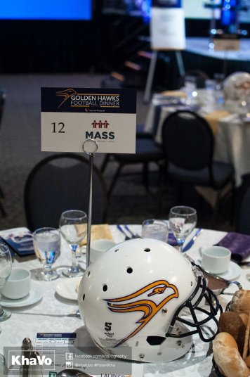 20170428 - Kha Vo - Laurier Football Dinner 2017-2