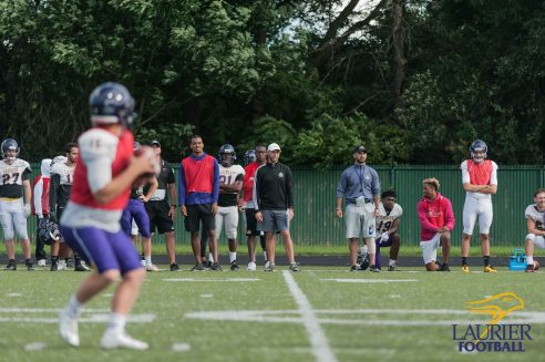 Kha Vo - Laurier Football 2017 Week 1 Practice_-112