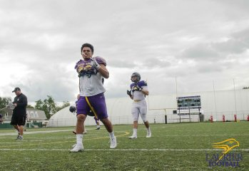 Kha Vo - Laurier Football 2017 Week 1 Practice_-130