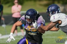 Kha Vo - Laurier Football 2017 Week 1 Practice_-99
