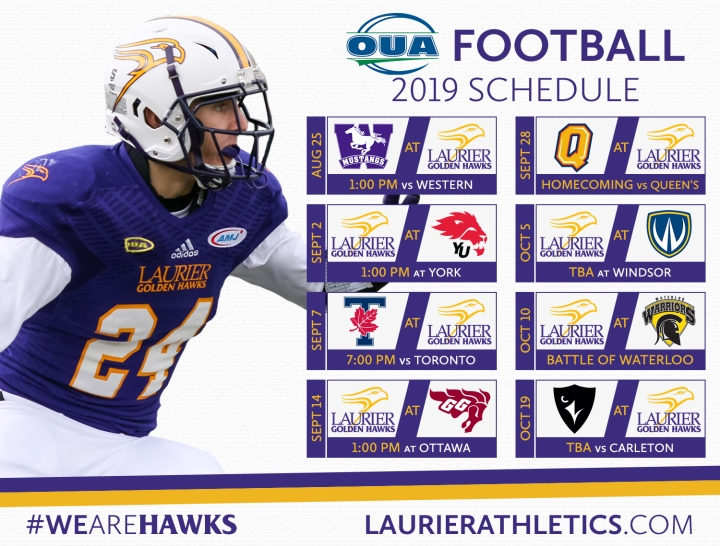 Schedule - 2019 OUA Football